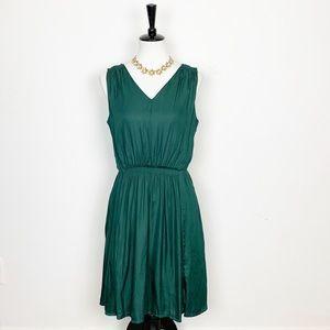 Banana Republic Green Sheath Dress Size 10P